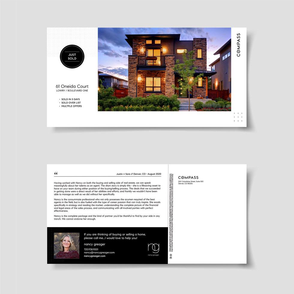 Nancy Greager Postcard - Humbl Design Co. LLC