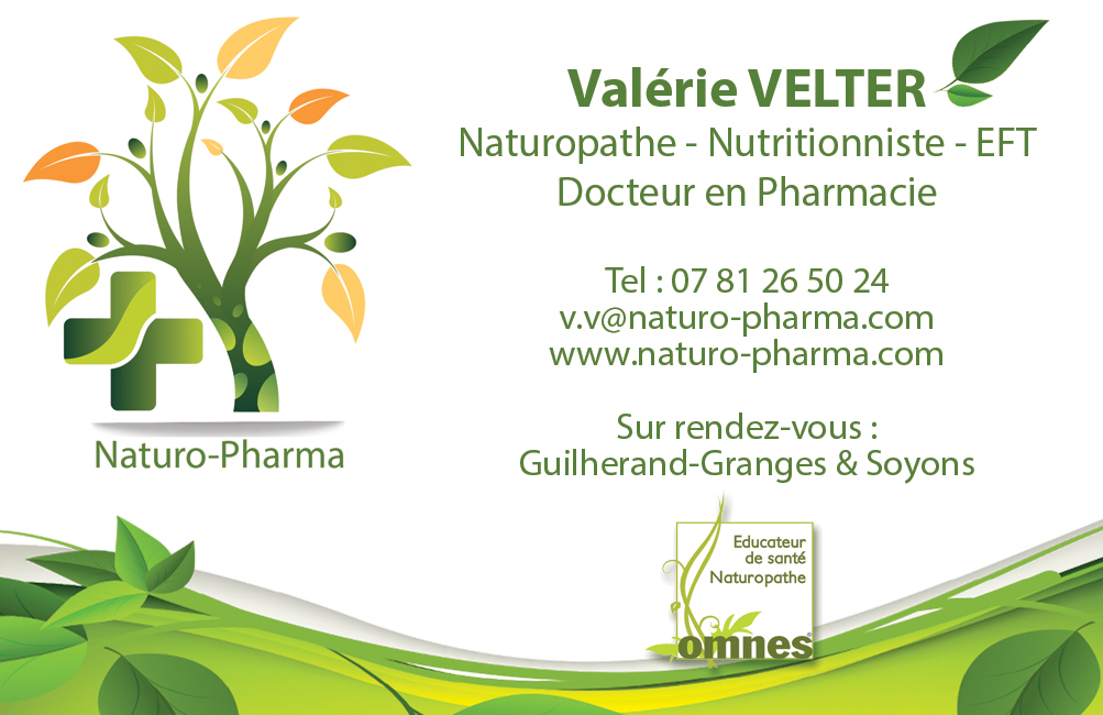 Naturopathe - Nutritionniste - Docteur en Pharmacie