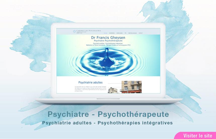 Site Web d'un cabinet de Psychiatre
