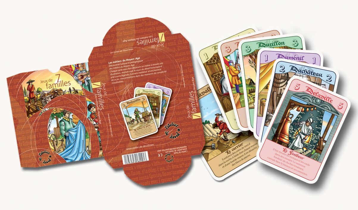 Packaging pour un jeu de cartes