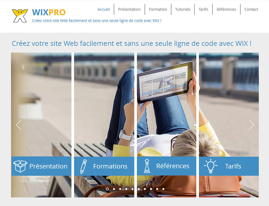 Formation WIX Valence Drôme