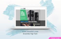Site Web de MusiKii