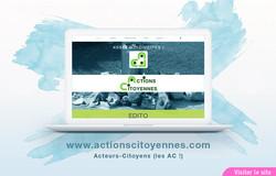 Site Web de Actions Citoyennes