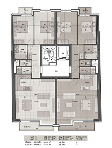 Residentie NORFOLK Markt 11 – 8660 De Panne