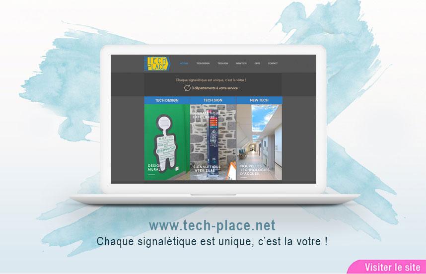 Site Web de l'entreprise Tech Place