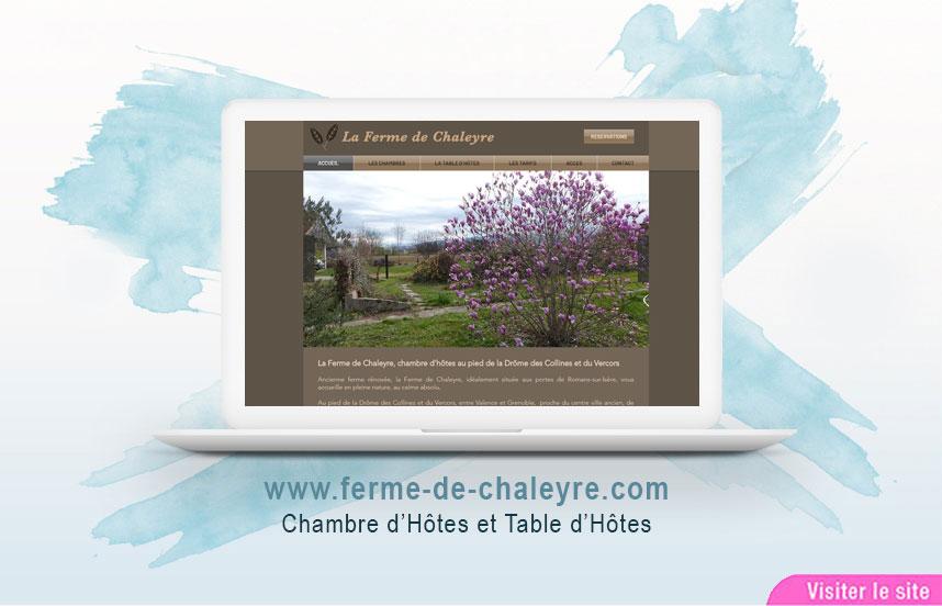 Site Web de La Ferme de Chaleyre