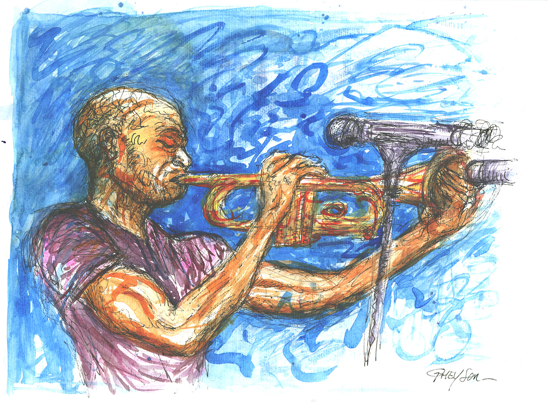 Aquarelle et Jazz