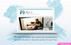 Site Web Projet PSYLIB