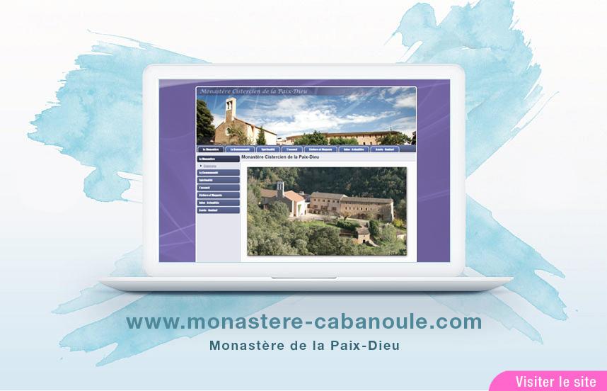 Site Web du monastère La PAIX-DIEU