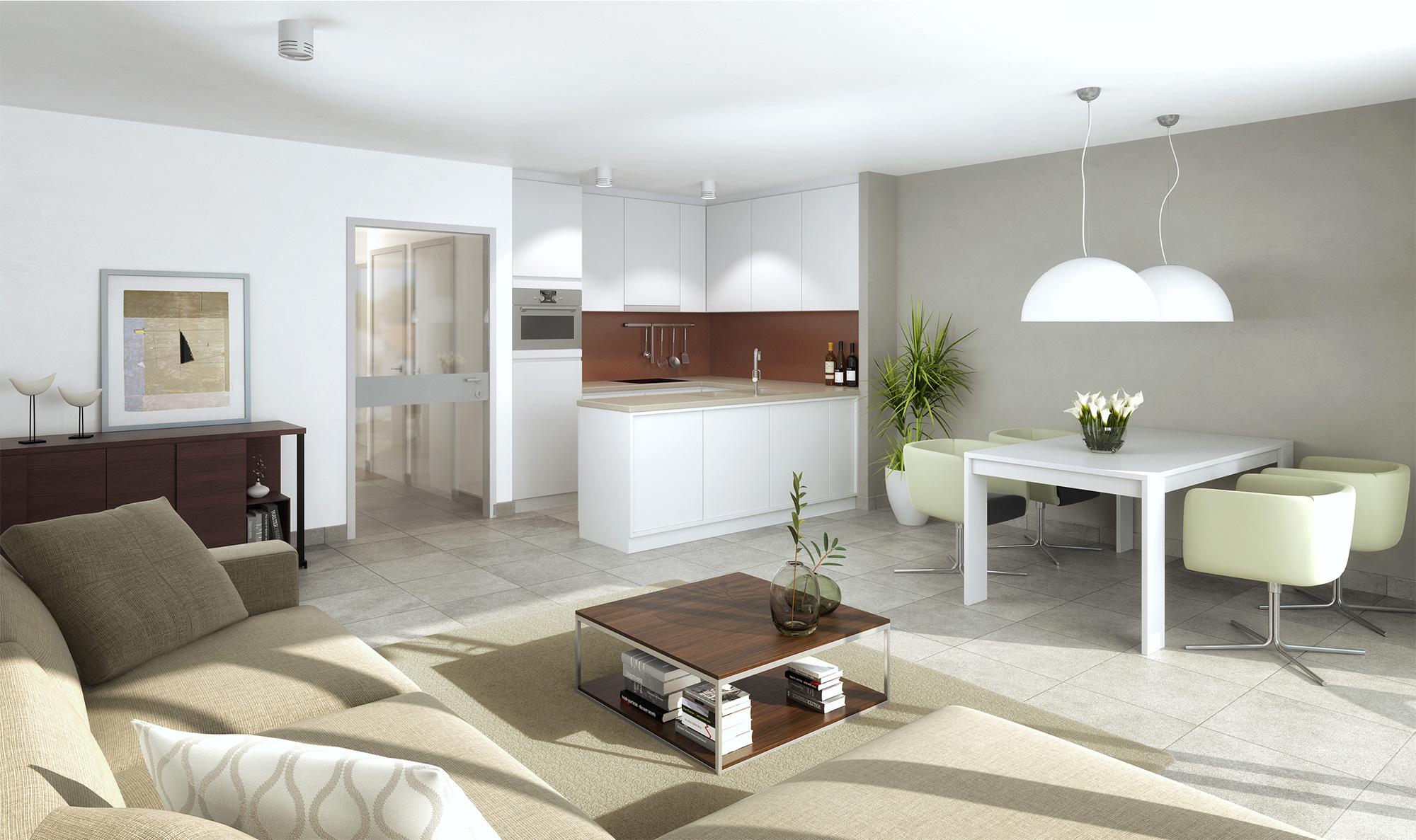 Appartement neuf à vendre à La Panne