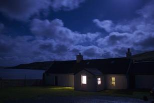 Glebe at night