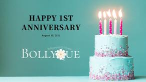 【BOLLYQUE1周年】2年目もよろしくお願い致します!
