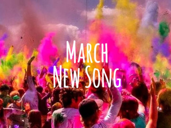 3月新曲紹介 :インドのお祭りホーリーに合わせてホーリーソング!