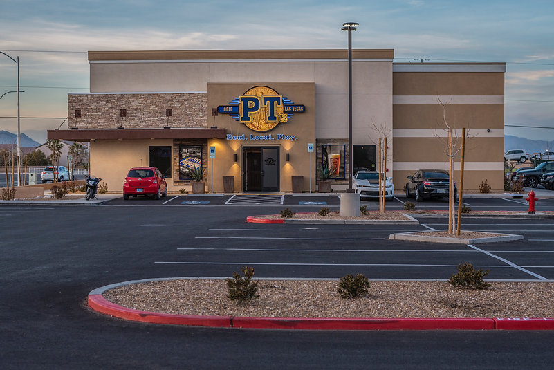 PT's Gold completed development on southeast corner of Blue Diamond & El Capitan in Las Vegas