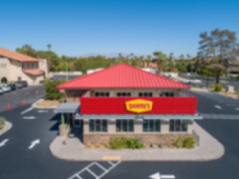 Completed redevelopment on Sahara right off the Las Vegas Strip . Denny's in the tenant, and they are open for business.