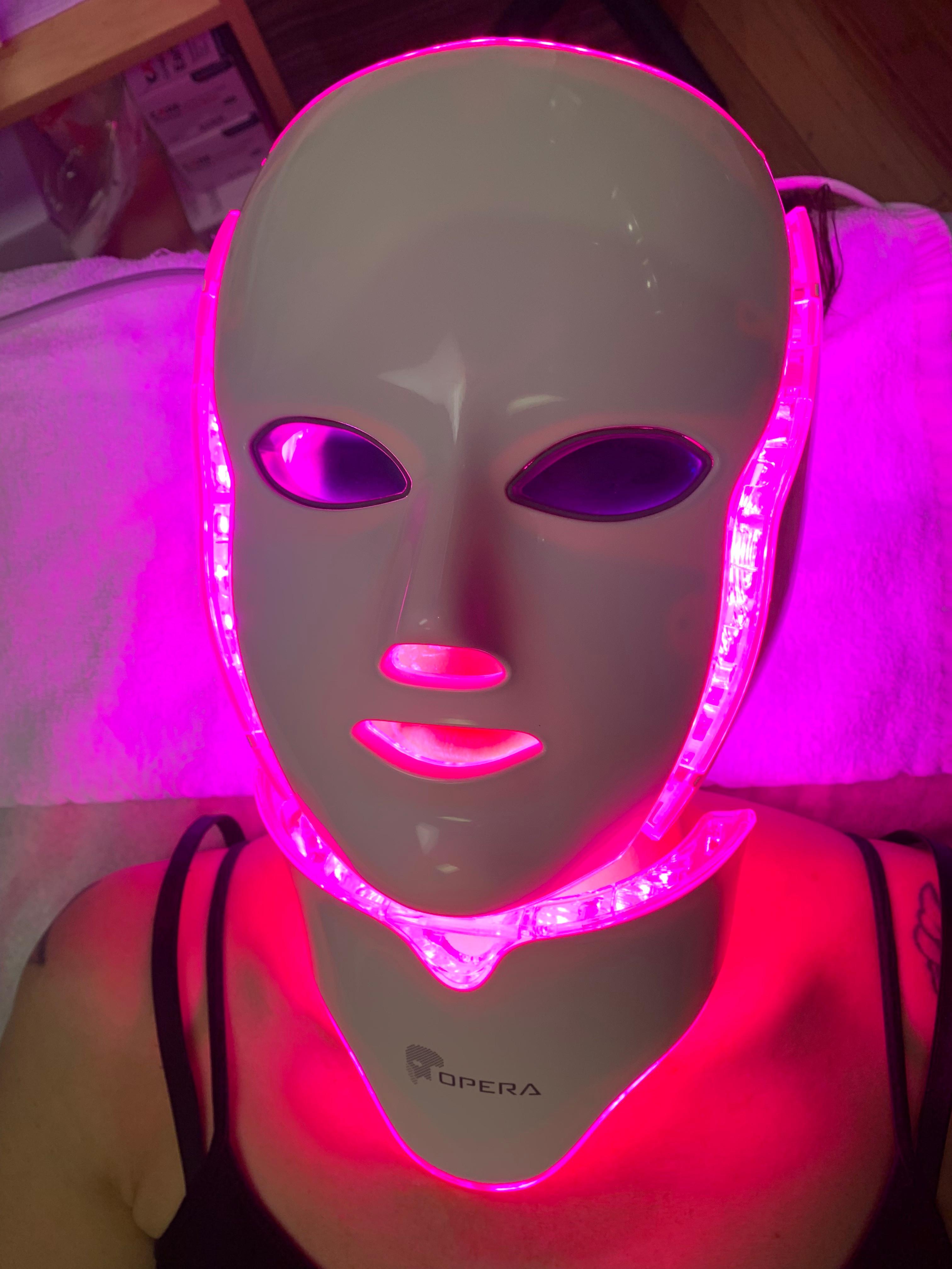 OPERA LED/Galvonic Mask $55