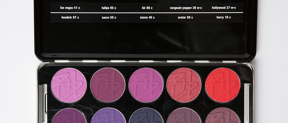 eyeshadow professional set pomp