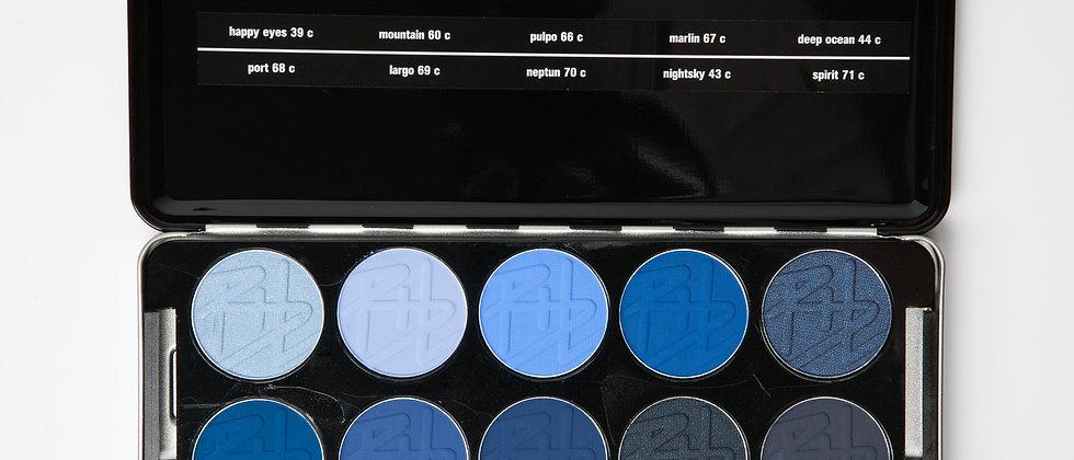 eyeshadow professional set bleu up