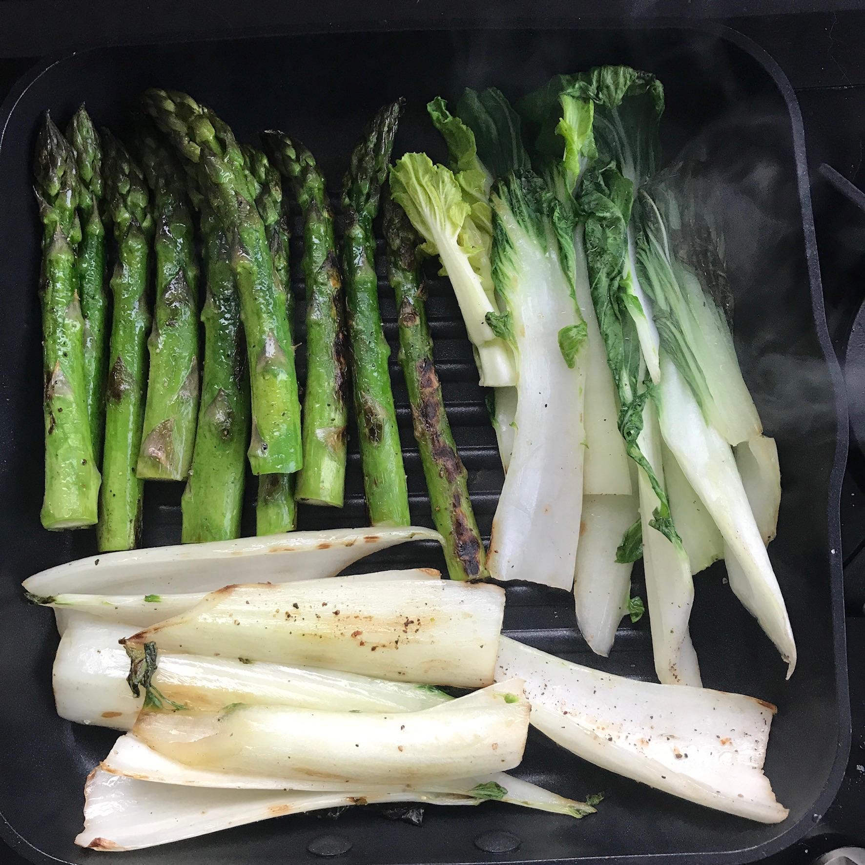 gegrilde groentjes