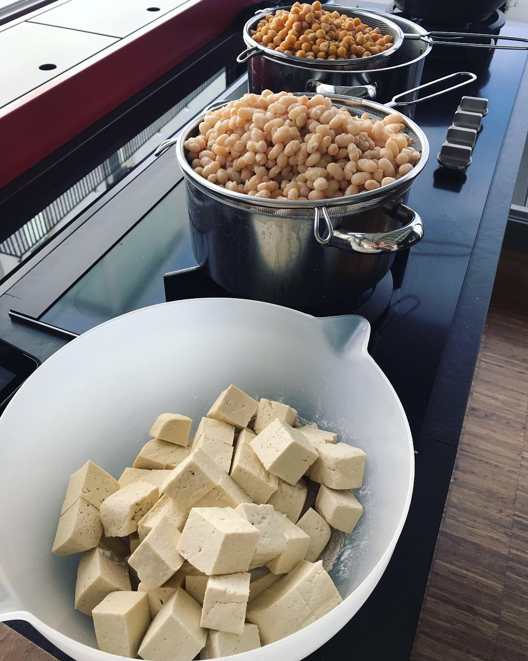food prepping, bonen en C°