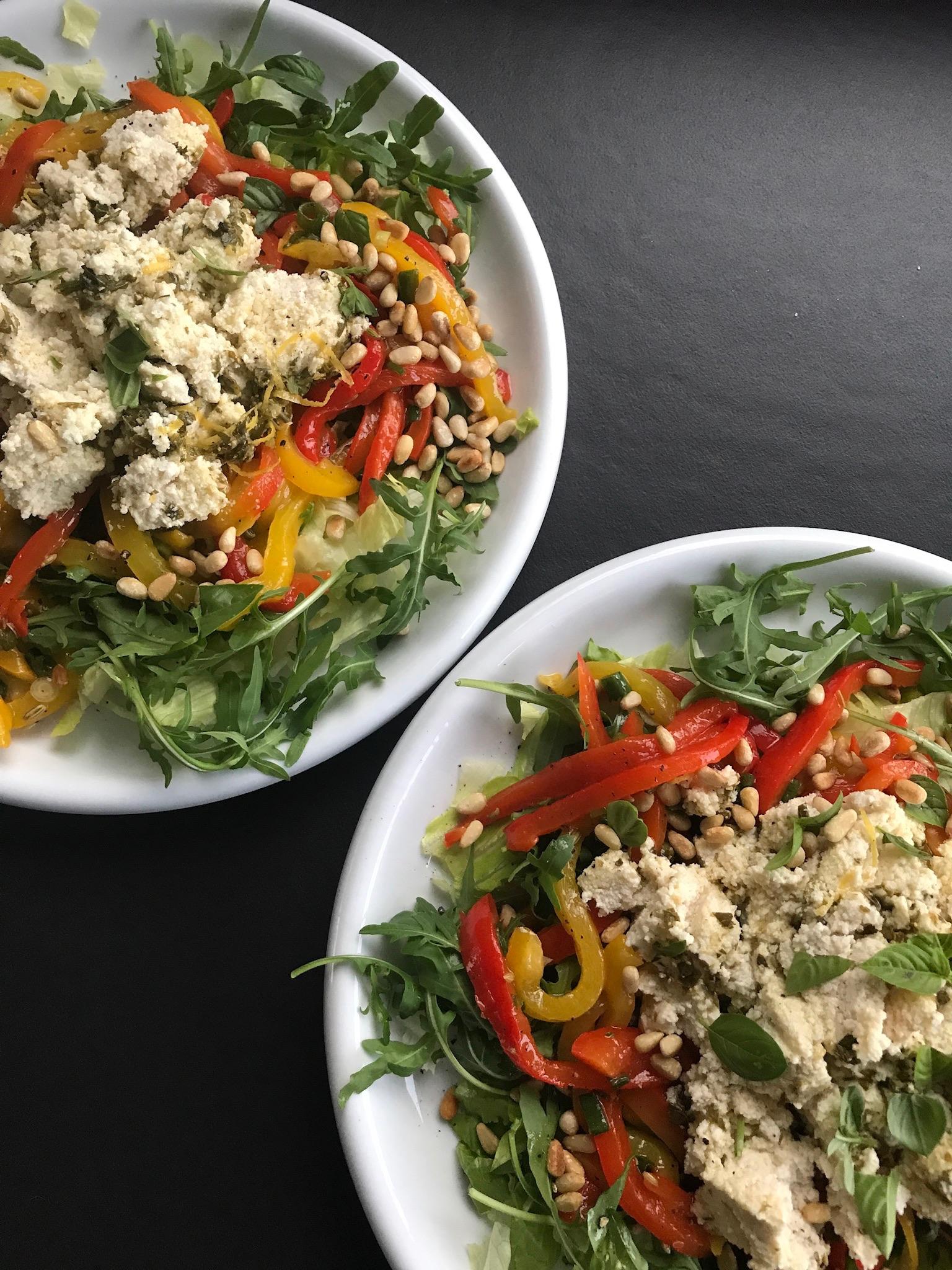 lekker in een salade