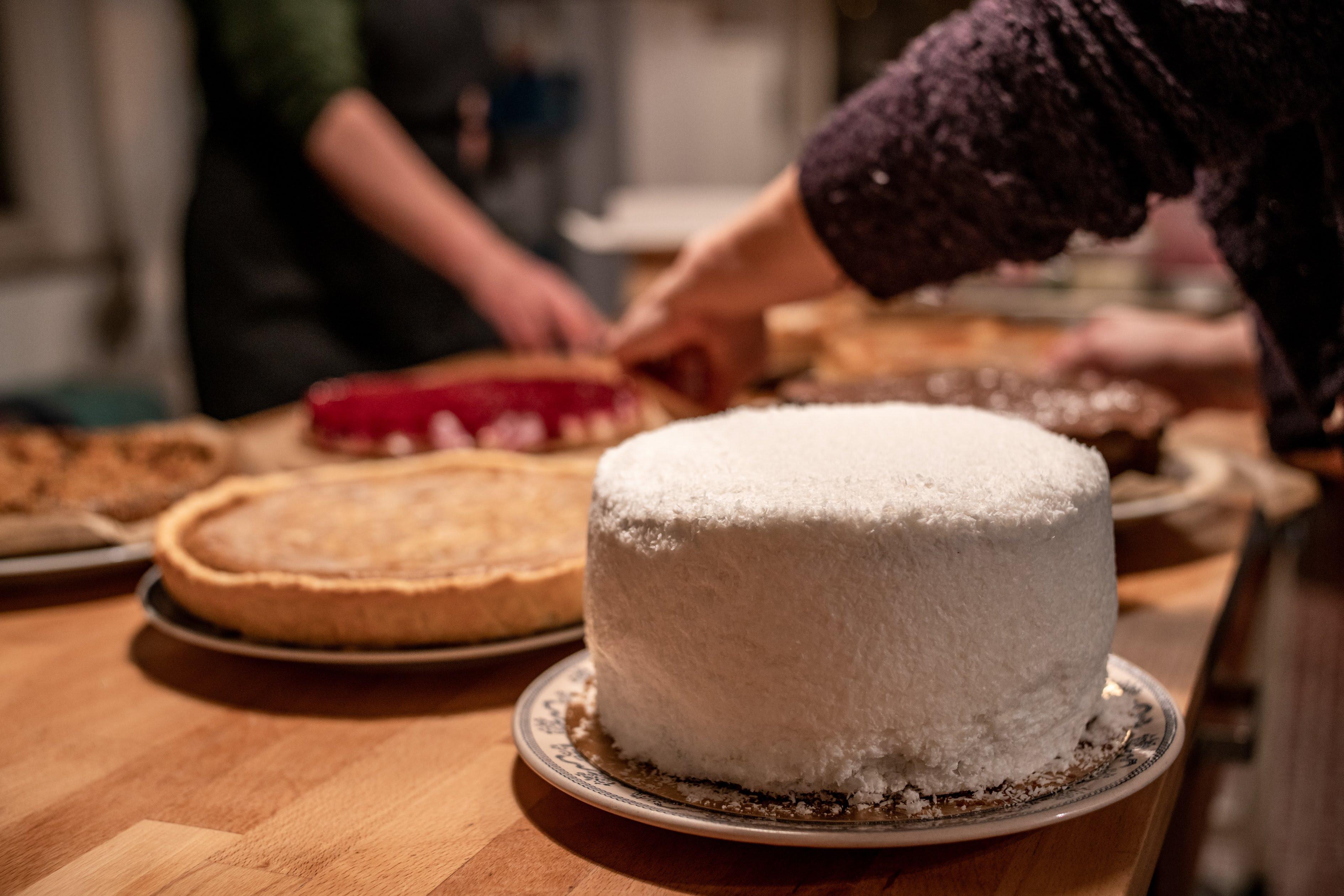 veel taart