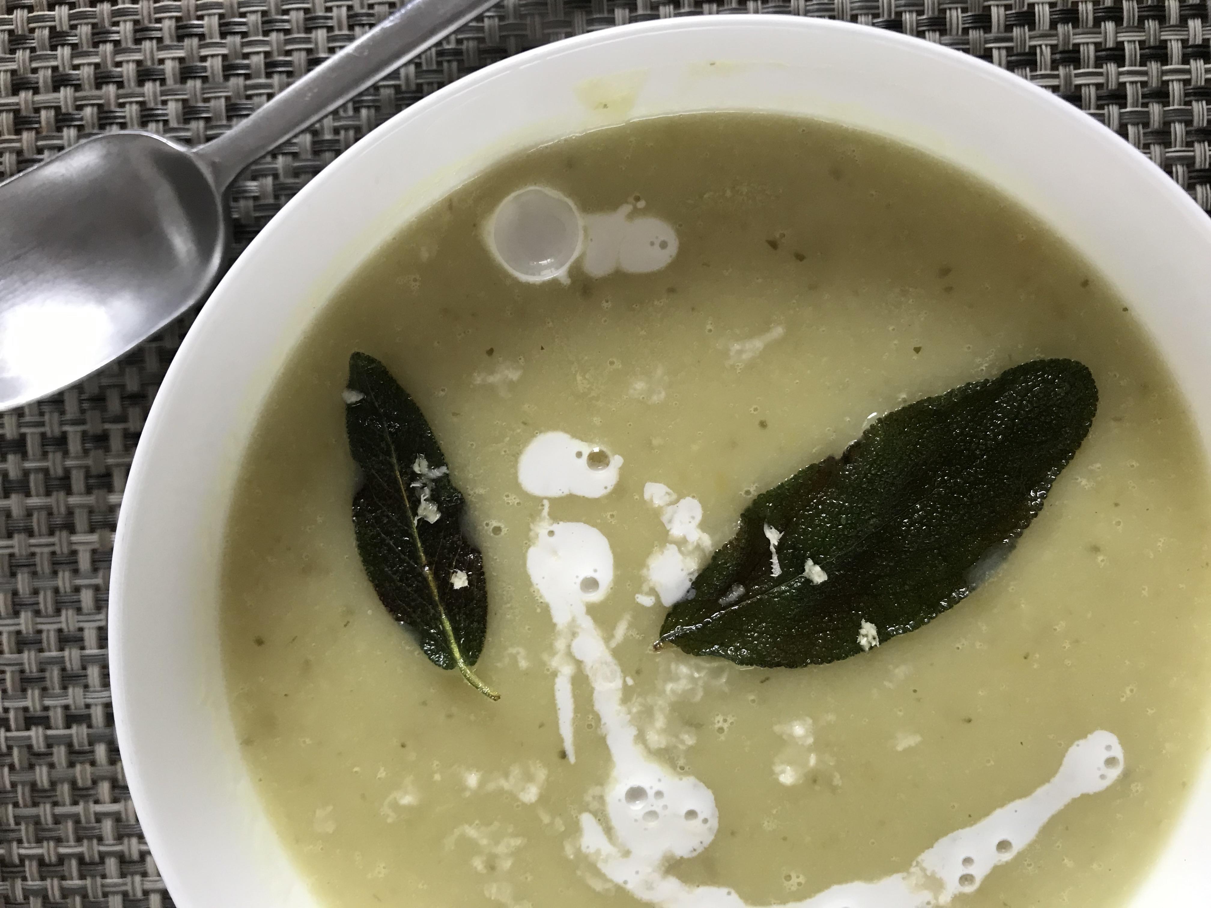 een hartverwarmend soepje