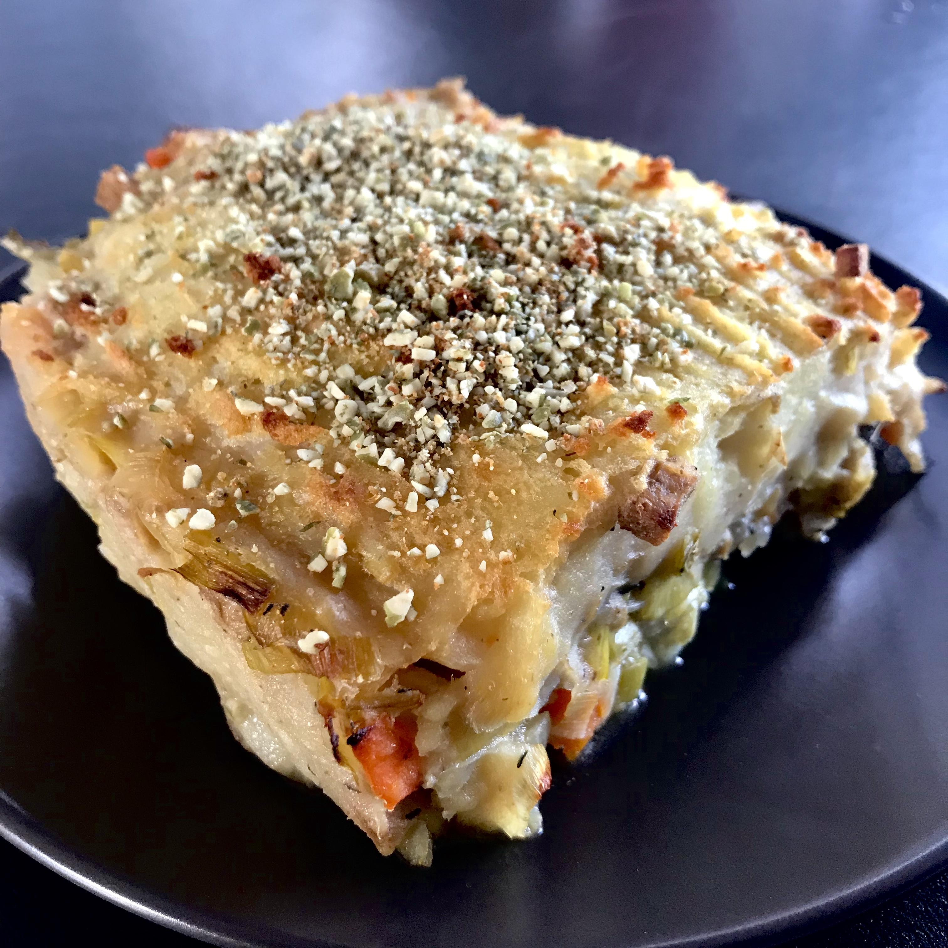 aardappelkorst met parmesan