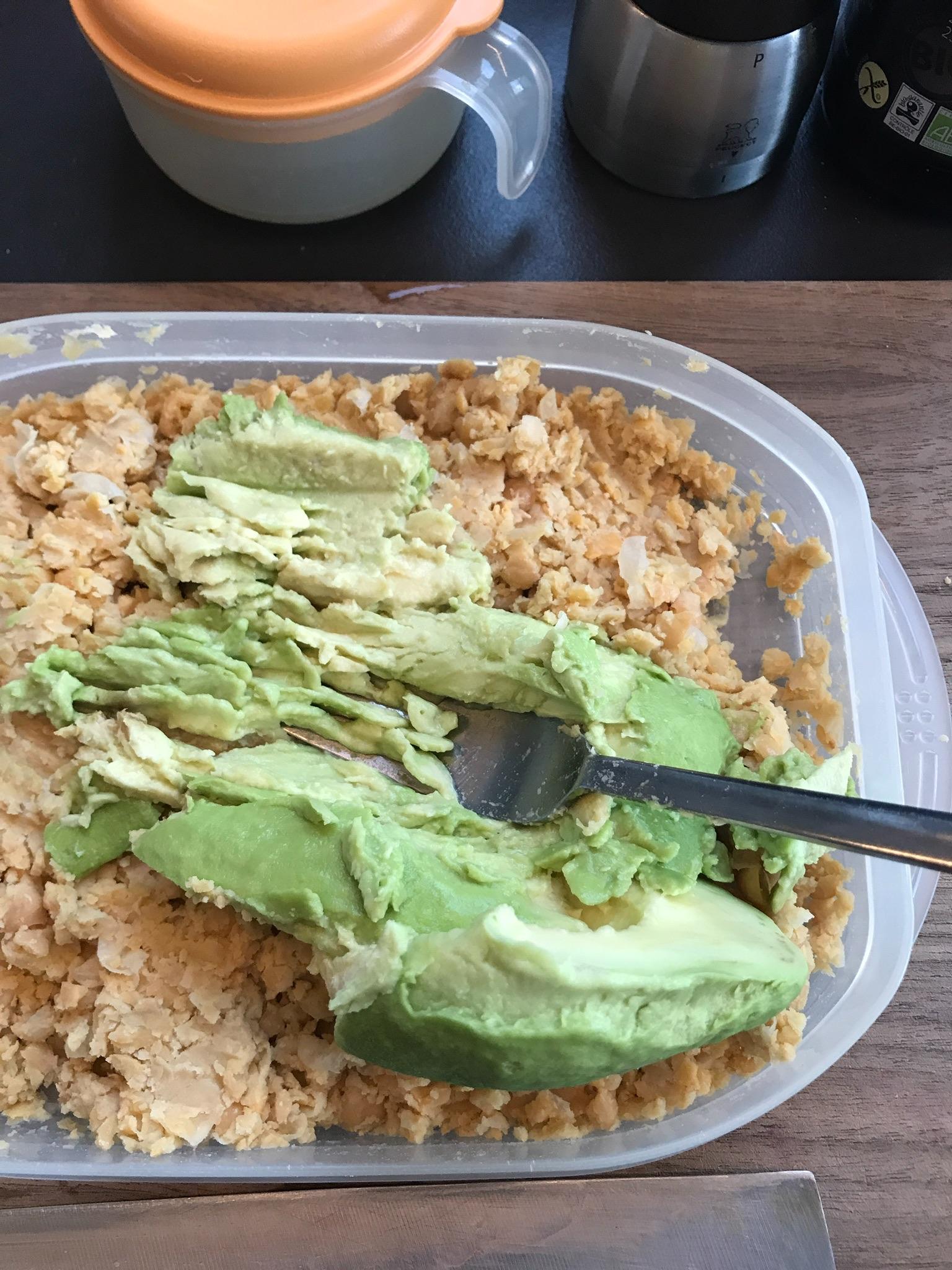 extra romig met avocado