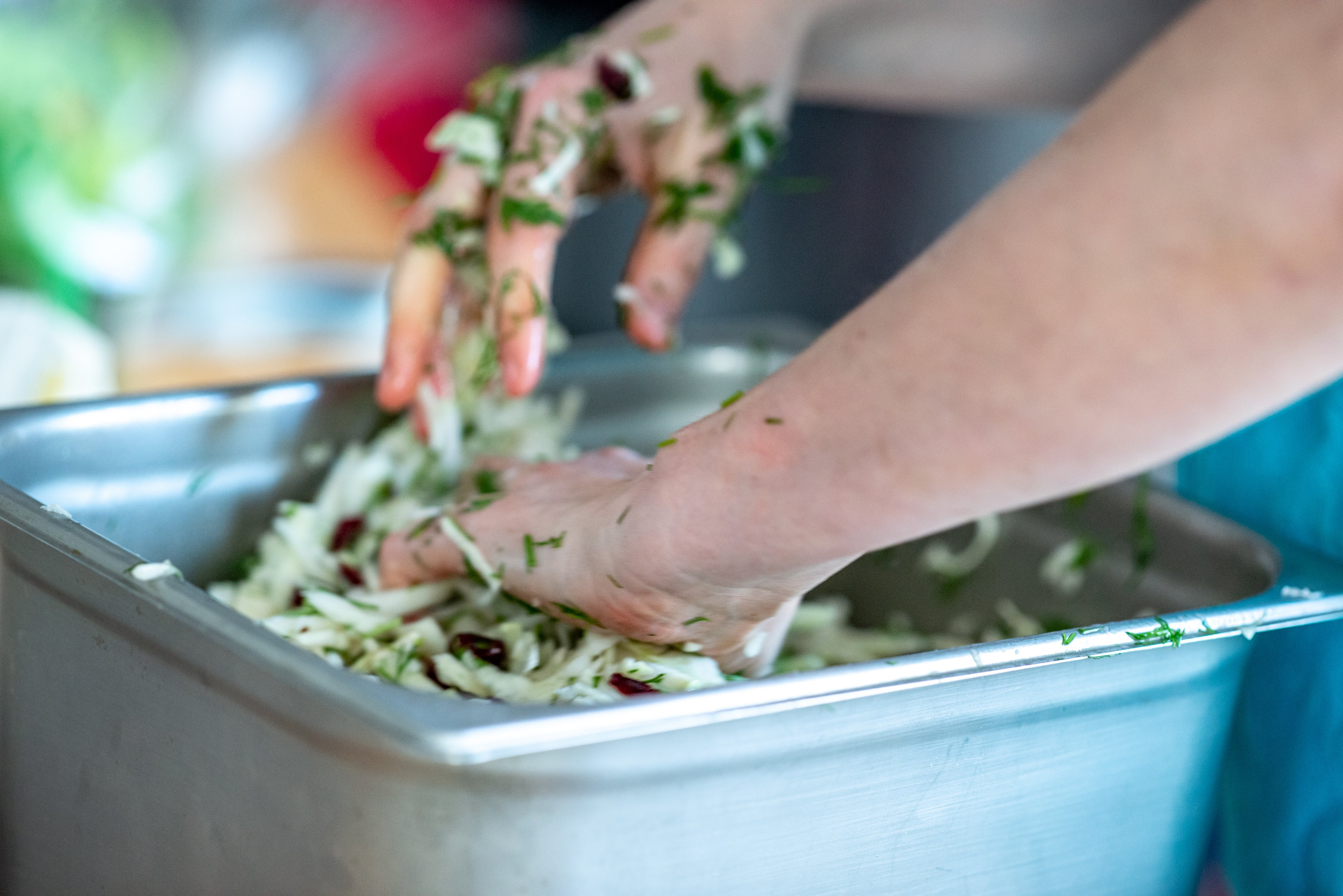 salade prepareren