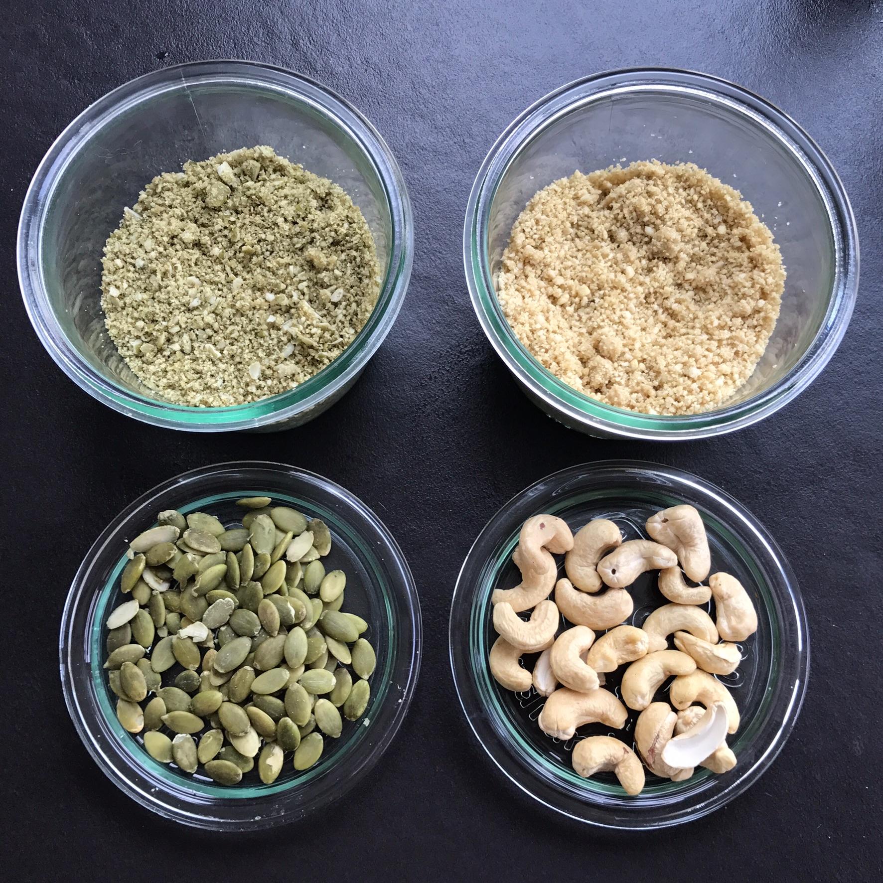 parmesan pompoen en cashew