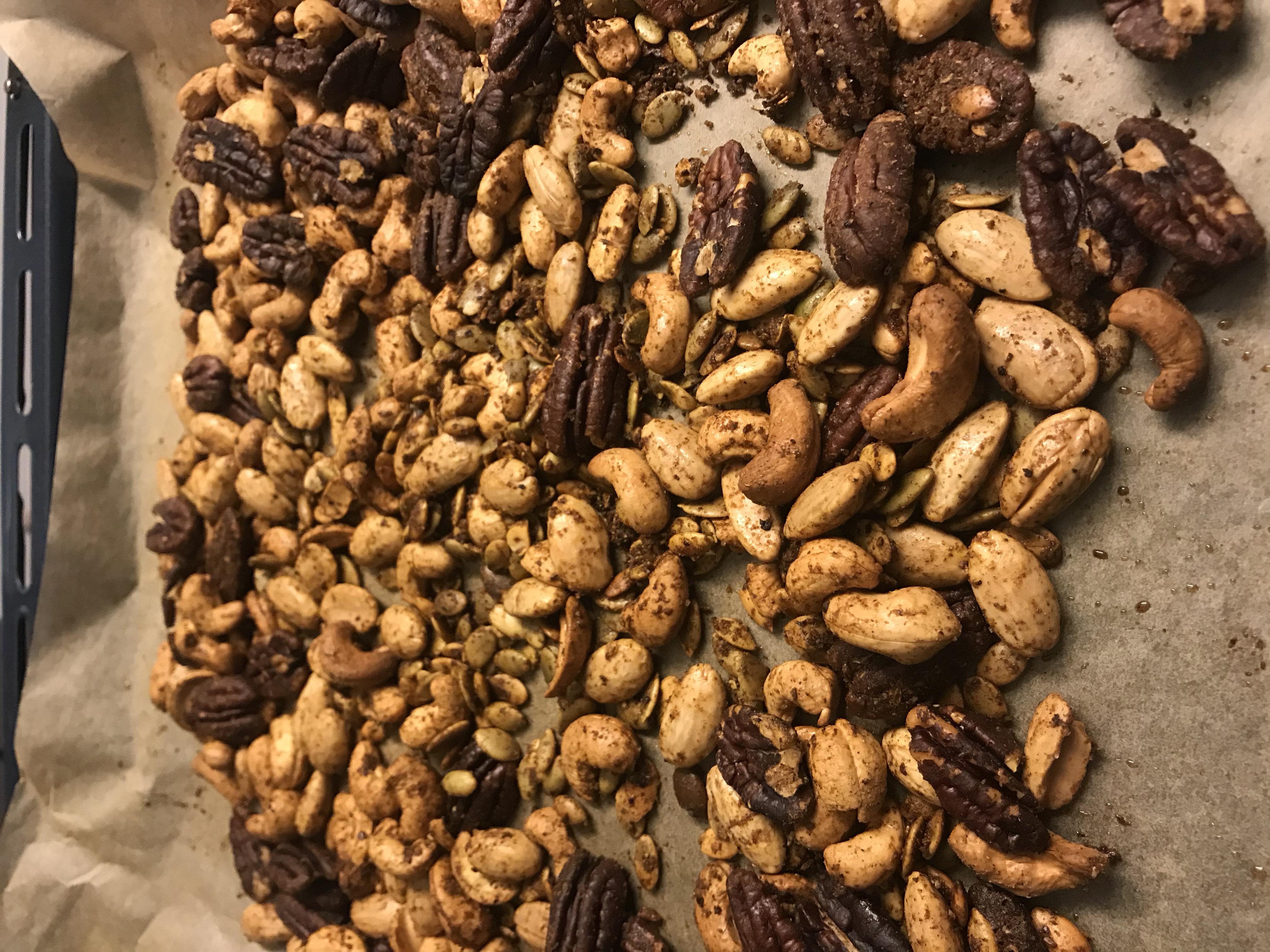 Laat de noten afkoelen voor je ze verpakt