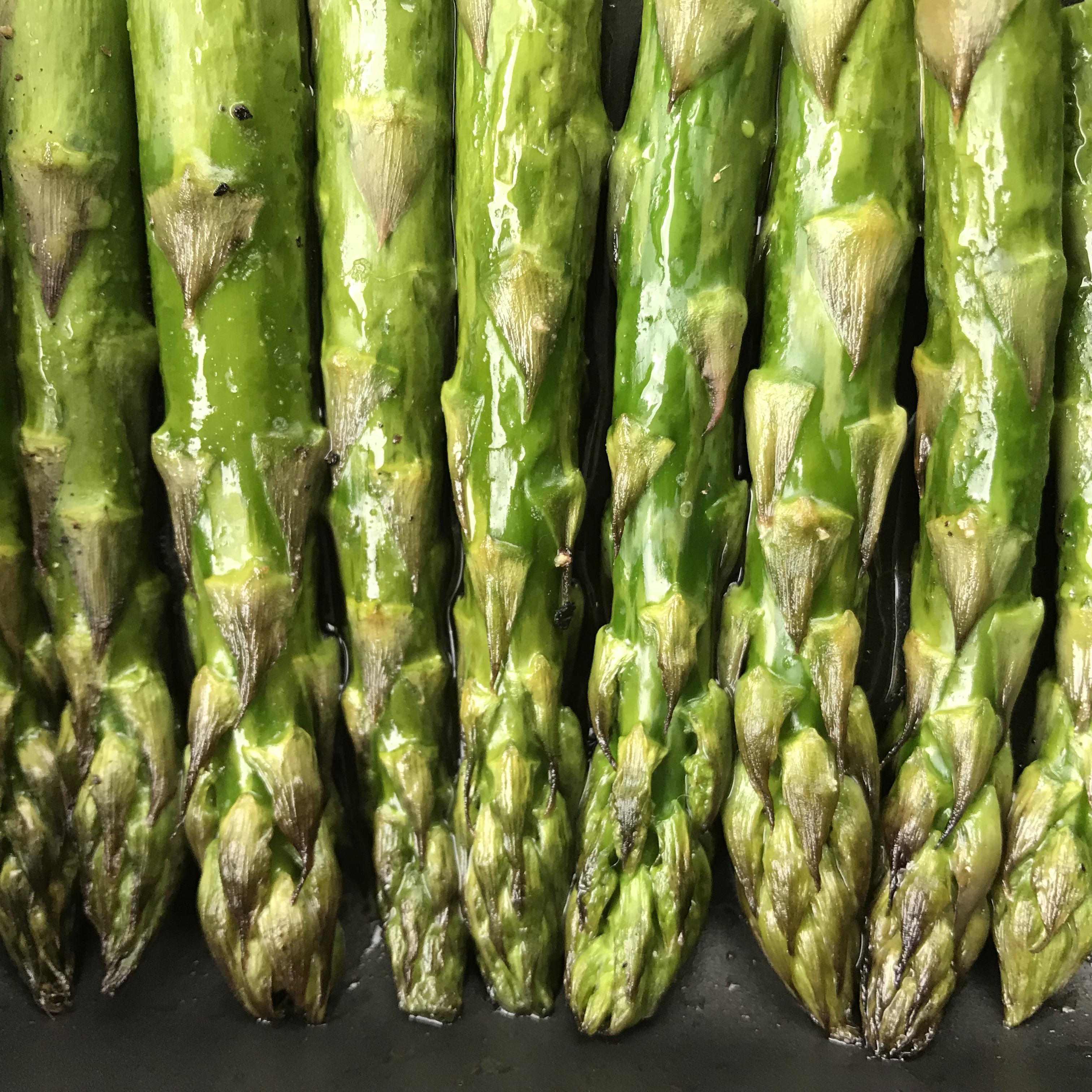 groene asperges