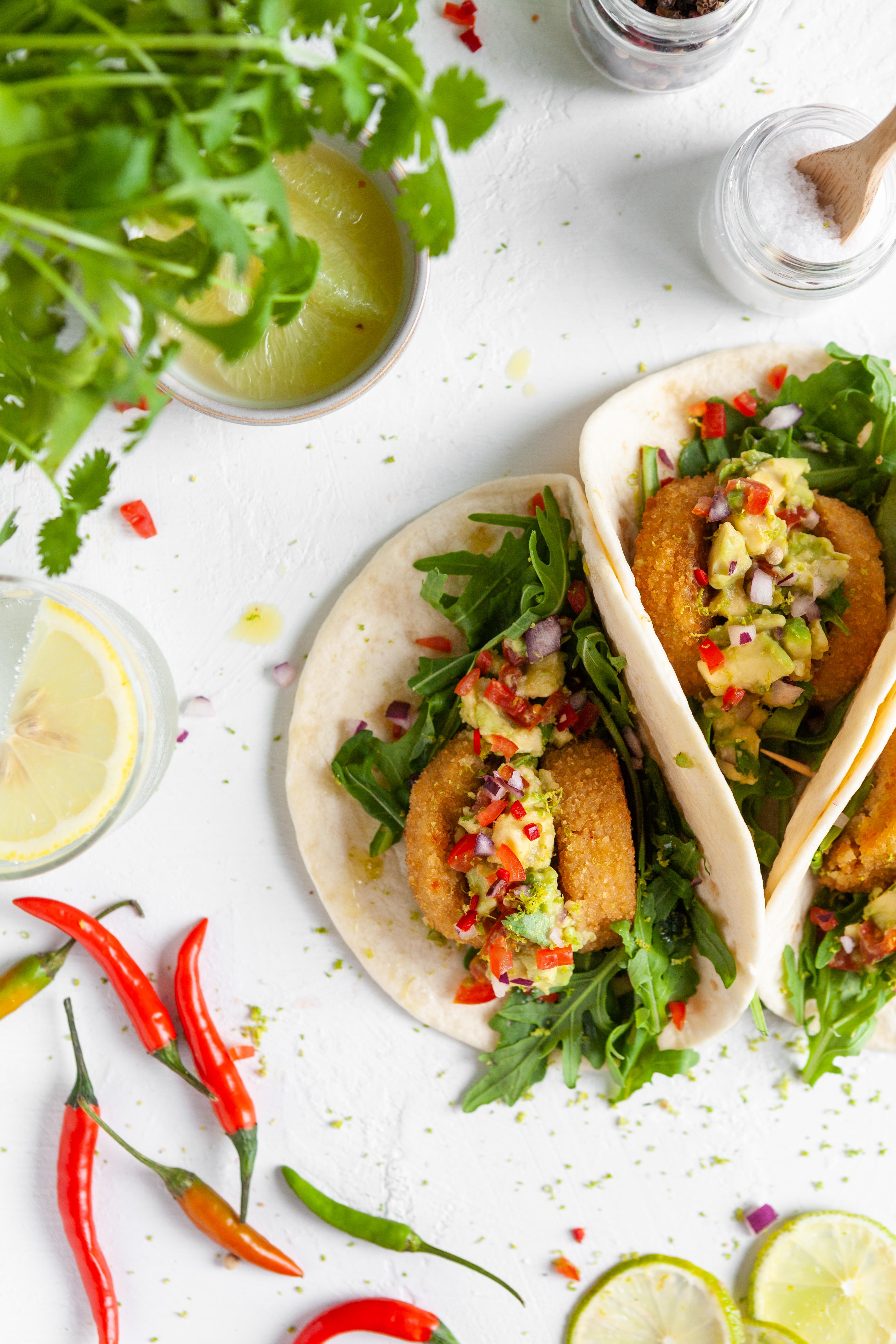 EVA magazine Winter 2019 - vegan voor vleeseters - Guac 'n 'tjies' taco
