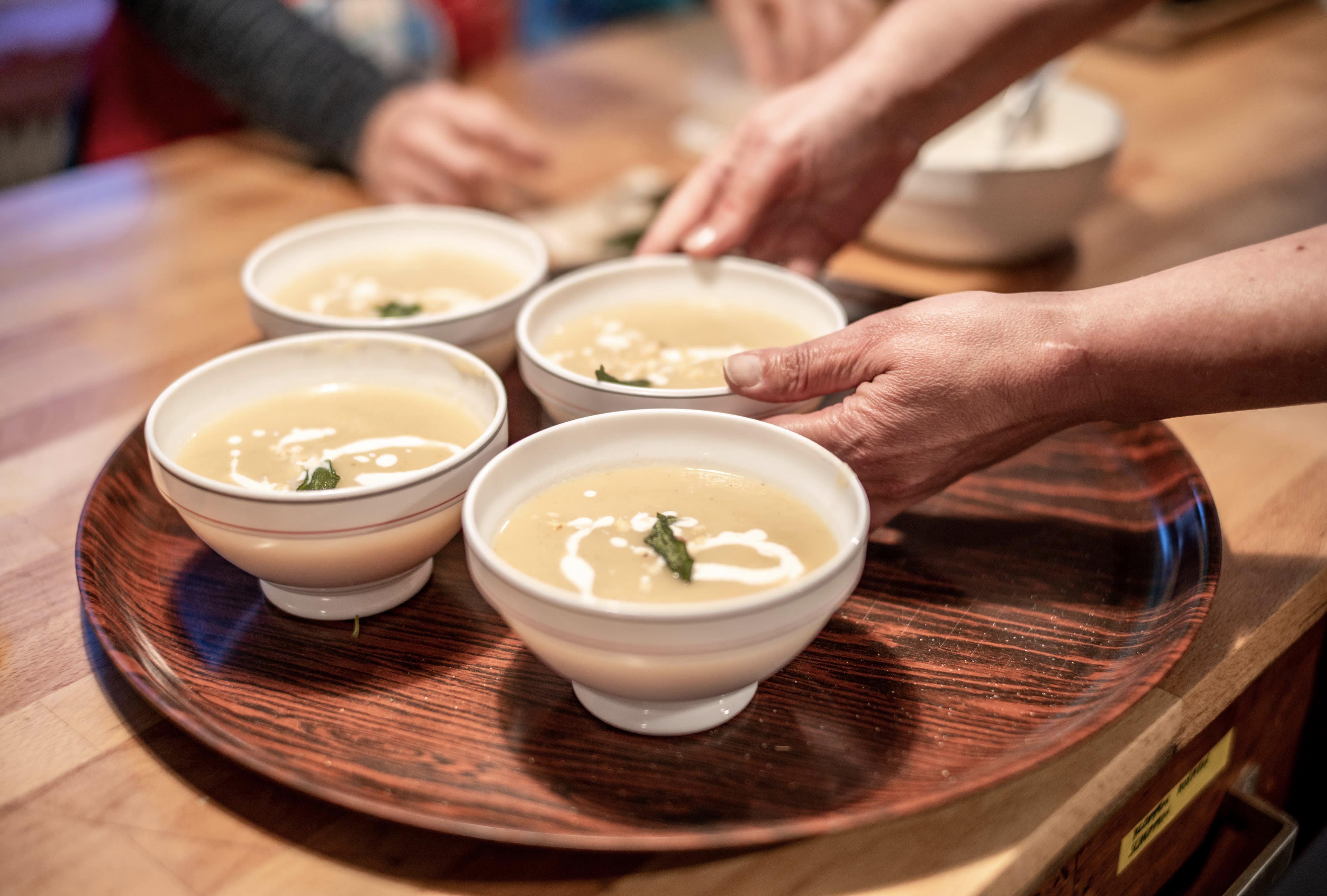 tijd voor een soepje