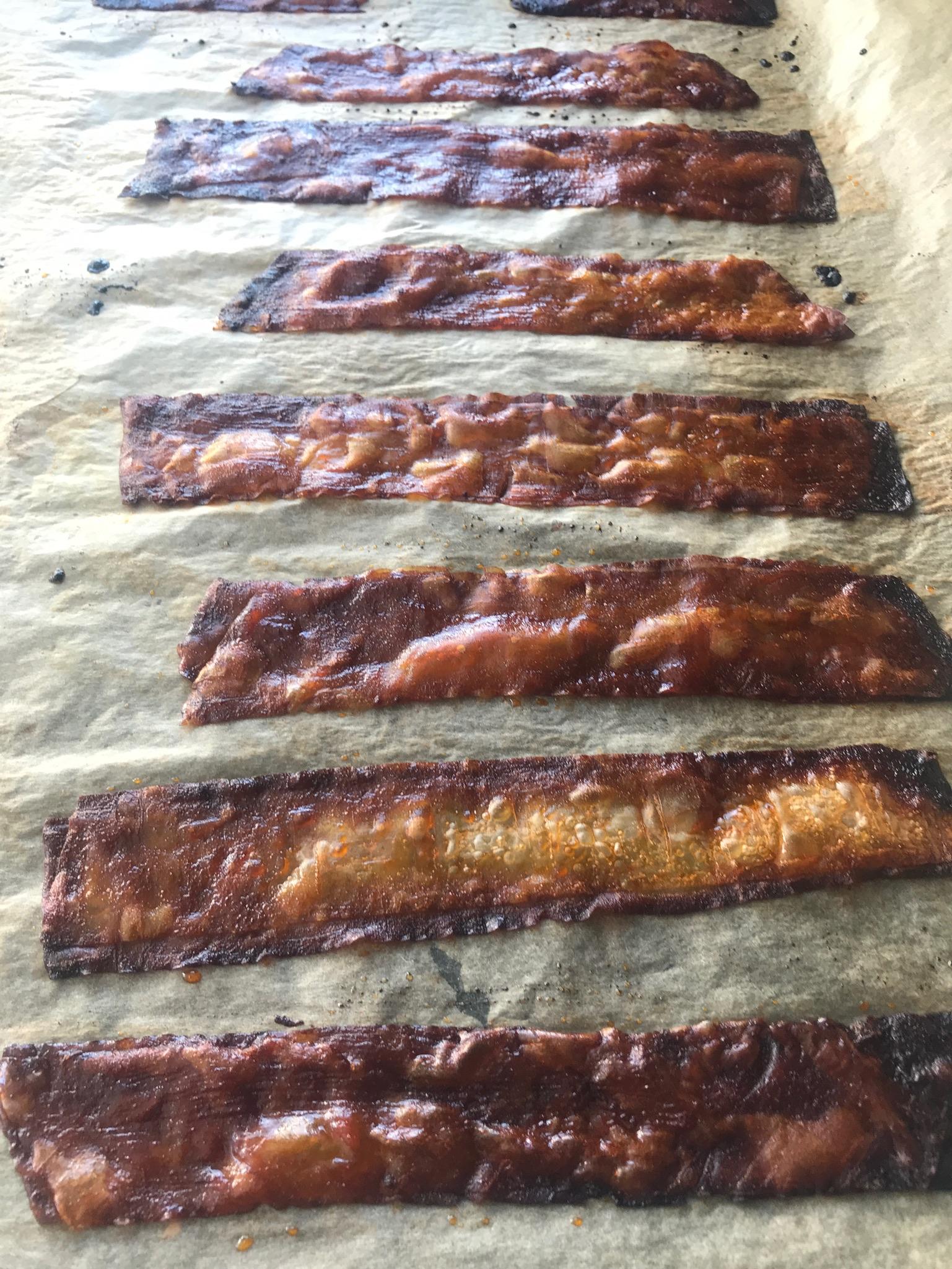 crispy bacon (rijstpapier)