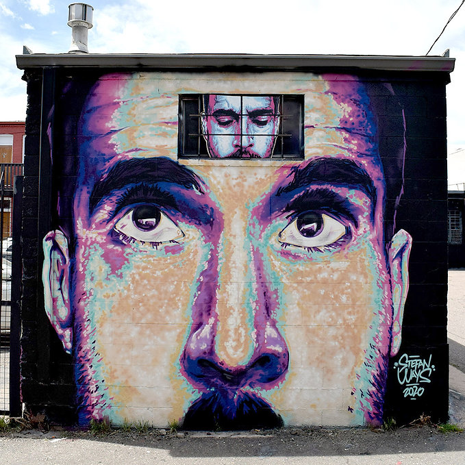 mural, street art, denver, colorado