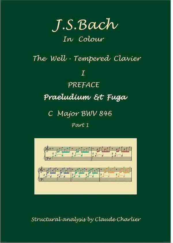 The Well-Tempered Clavier. Analysis in colour with commentaries.