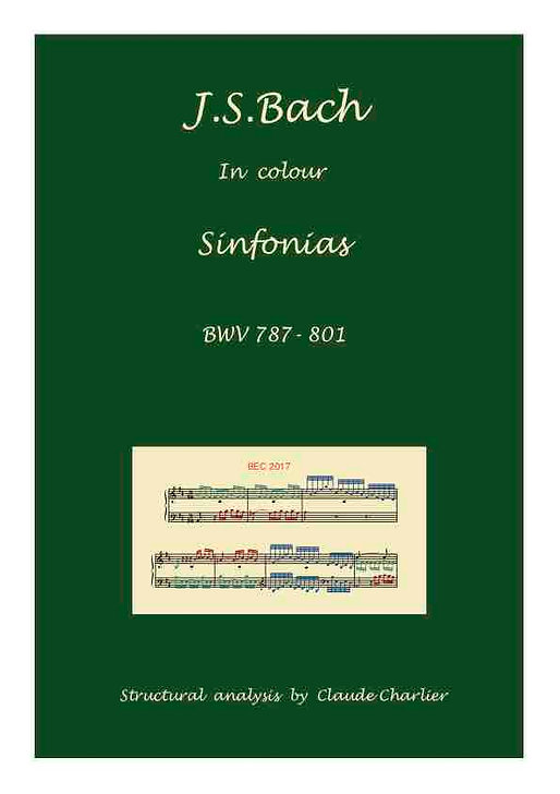 The Sinfonias. Edition in colour with commentaries.