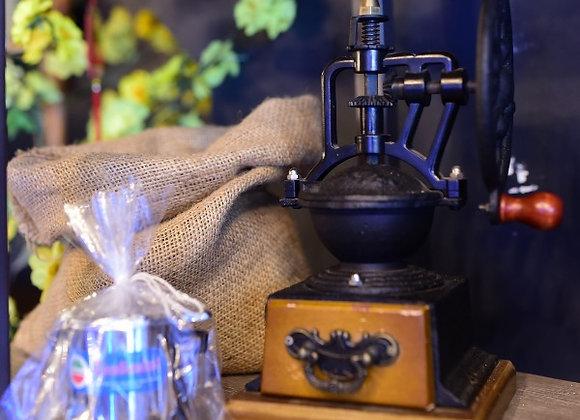 Combo Vintage Coffee Grinder & Vietnamese style Filter