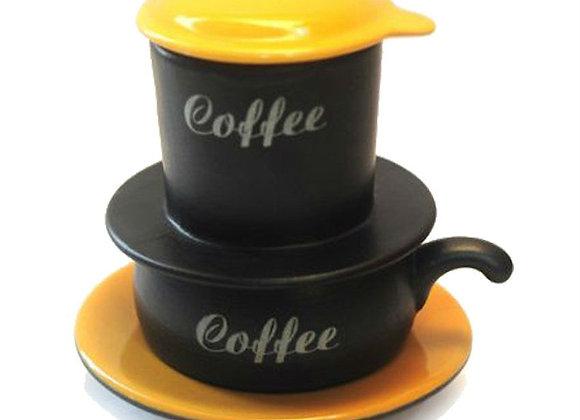 Ceramic coffee Filter set