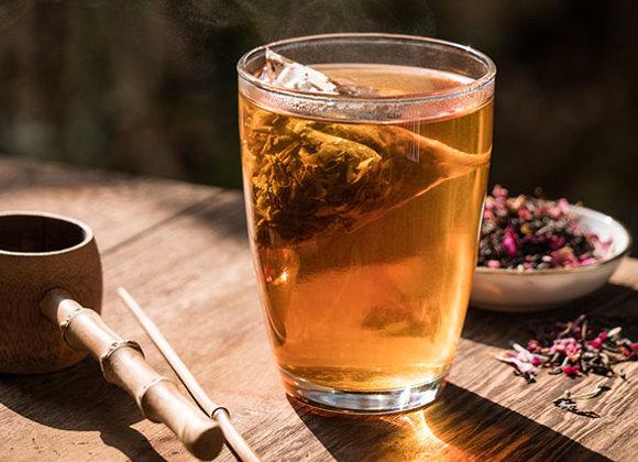 Rose black tea