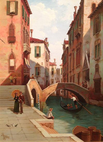 A Backwater, Venice