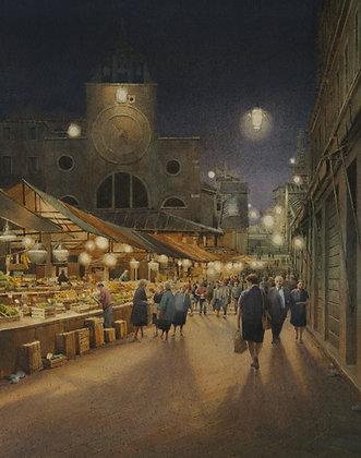 Rialto Markets at Night