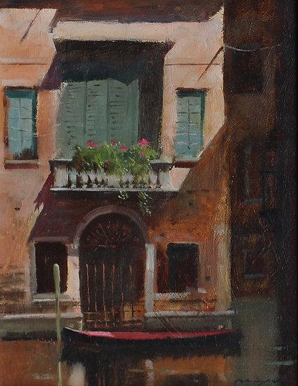 Canal Balcony, Venice