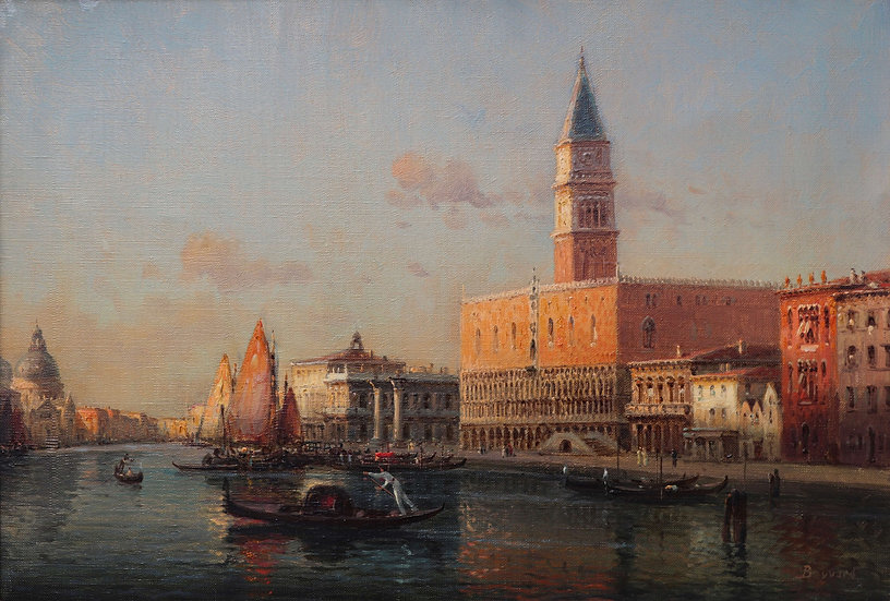 Doge's Palace, Grand Canal