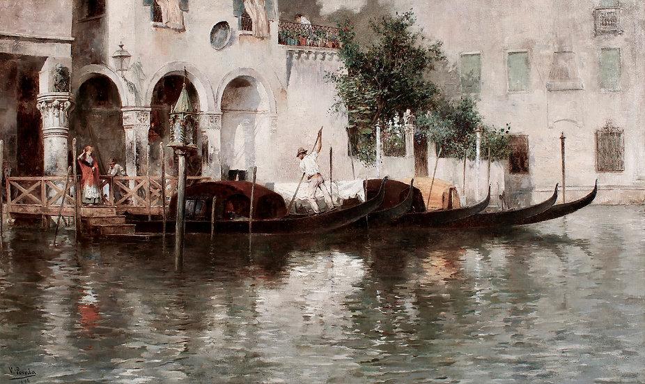 Un Traghetto a Venezia, Gondoliere