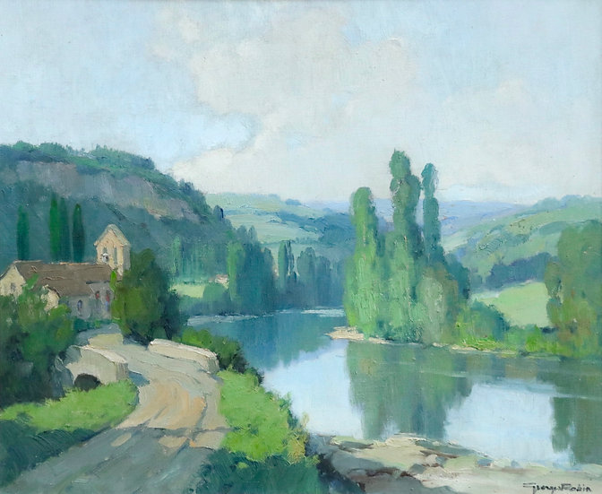 L'Aveyron a Montrozier