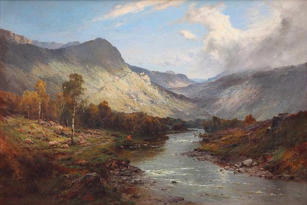 ALFRED DE BREANSKI | The Banks of the River Doon