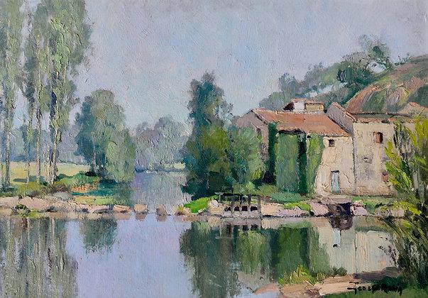 GEORGES CHARLES ROBIN | Moulin prés du Clisson Vendée